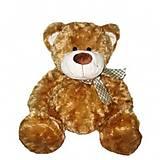 Мягкий медведь с бантом, коричневый, 4001GMC, фото