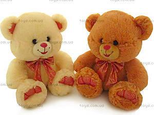 Мягкая игрушка «Медведь с малиновым бантом», LF866A