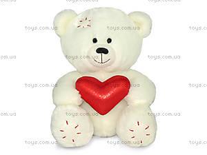 Мягкая игрушка «Медвежонок Масик с сердцем», LA8546E