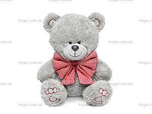 Мягкая игрушка «Медвежонок Ники с клетчатым бантом», LA8786H