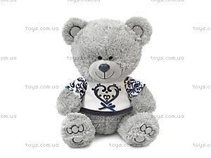 Мягкая игрушка «Медвежонок Ники в футболке», LA8786J
