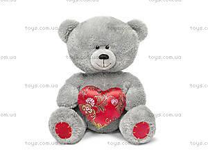 Плюшевая игрушка «Медвежонок с парчовым сердцем», LA8383W