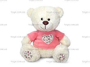 Мягкая игрушка «Медвежонок Сэмми в кофточке», LA8733J
