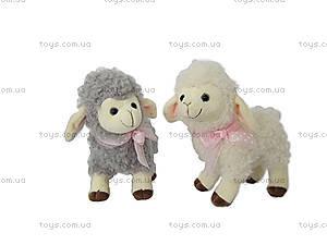 Плюшевая овечка с бантиком, LF1212