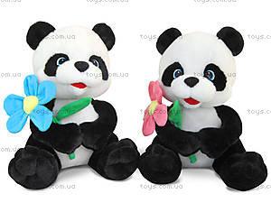Мягкая игрушка «Панда с цветком», LF873