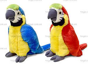 Плюшевая игрушка «Попугай Ара», LF1247
