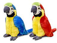 Плюшевая игрушка «Попугай Ара», LF1247, фото