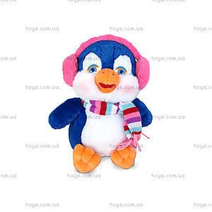 Плюшевая игрушка «Пингвин в наушниках», LF1109