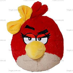 Мягкая детская игрушка Angry Birds «Птичка Красная Девочка», 92050
