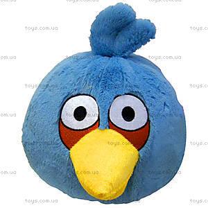 Мягкая детская игрушка Angry Birds «Птичка Синяя», 90838