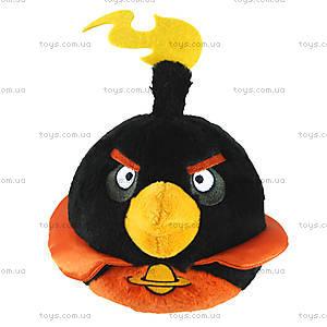 Мягкая детская игрушка Angry Birds Space «Черная Птичка», 92572