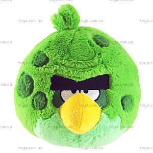Мягкая детская игрушка Angry Birds Space «зеленая Птичка», 92576