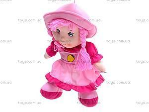 Мягкая детская кукла с косами, A4416, фото