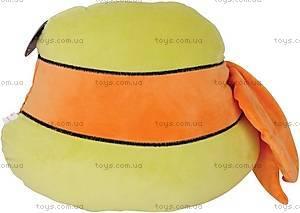 Мягкая детская подушка «Микеланджело», Черепашки-ниндзя, 41-0090AL, купить