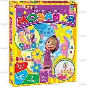 Мягкая фигурная мозаика «Маша», VT2301-0304, детские игрушки