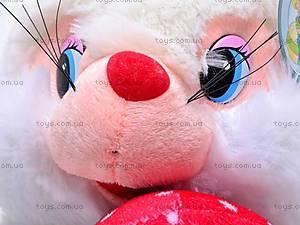 Мягкая игрушка «Белка», с грибочком, S-TY-4030, детские игрушки