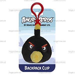 Мягкая игрушка-брелок Angry Birds «Черная птичка», 90891