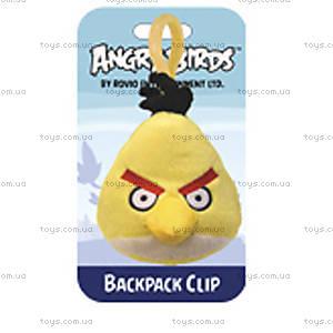 Мягкая игрушка-брелок Angry Birds «Желтая птичка», 90893, купить