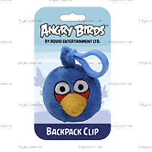 Мягкая игрушка-брелок Angry Birds «Синяя птичка», 90890