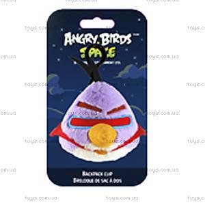 Мягкая игрушка-брелок Angry Birds Space «Лазерная птичка», 92741