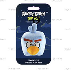 Мягкая игрушка-брелок Angry Birds Space «Ледяная Птичка», 92740