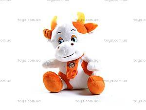 Мягкая игрушка «Бычок с шарфом», 70341А