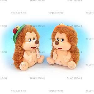 Мягкая игрушка «Ежик с листиком», LA8195A