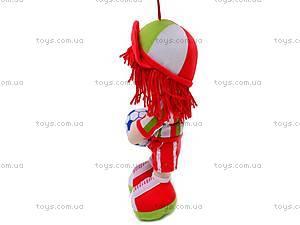 Мягкая игрушка «Футболист» , 260214, цена