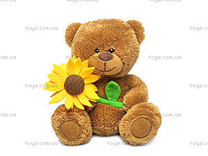 Мягкая игрушка «Медведь и подсолнух», LA8733P