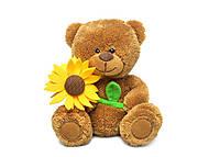 Мягкая игрушка «Медведь и подсолнух», LA8733P, игрушки