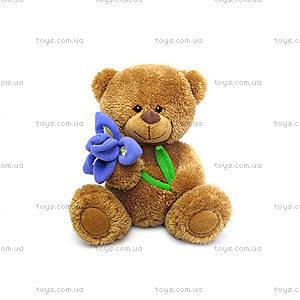 Мягкая игрушка «Медвежонок с ирисом», LA8733M