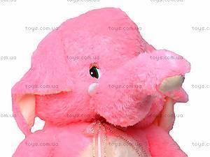 Мягкая игрушка «Музыкальный слоник», S-S38-3350/80, фото