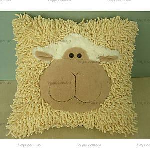 Мягкая игрушка овечка-подушка, 4002GO