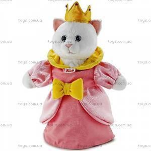 Мягкая игрушка-рукавичка «Кошка Принцесса», 29972