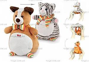 Мягкая игрушка-рукавичка «Кот-Собака», 29983