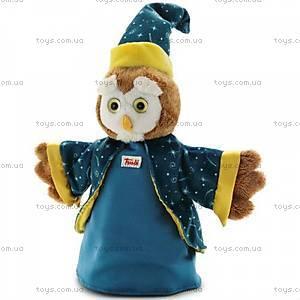 Мягкая игрушка-рукавичка «Сова-волшебница», 29971