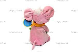 Мягкая игрушка «Танцующая мышка», 1992-4ВТ, фото