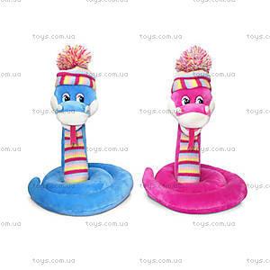 Мягкая игрушка «Змейка в вязанной шапочке», LA8700