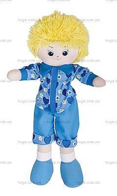 Мягкая кукла «Мальчик», 35 см, 30-11BAC3501