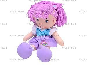 Мягкая кукла с хвостиками, R1520F, фото