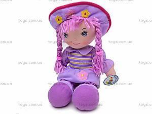 Мягкая кукла, с косами, R2016C