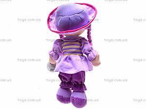 Мягкая кукла, с косами, R2016C, фото