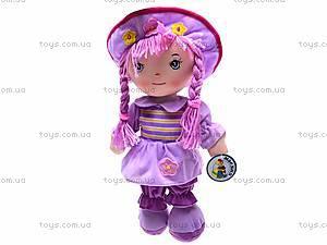 Мягкая кукла, с косами, R2016C, игрушки