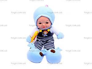 Мягкая кукла, в пакете, T1836A-T1841A