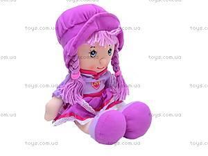 Мягкая кукла в шляпе для девочек, R0414, фото