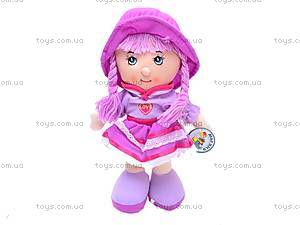 Мягкая кукла в шляпе для девочек, R0414