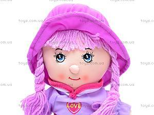 Мягкая кукла в шляпе для девочек, R0414, цена