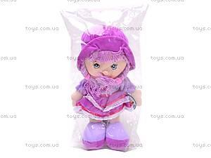 Мягкая кукла в шляпе для девочек, R0414, игрушки