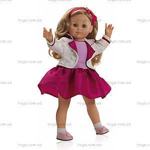 Мягкая кукла Иза с каркасом, 06202