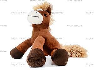 Мягкая лошадь «Булан», К028НМ, детские игрушки